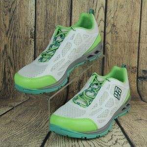 Columbia Megavent Fly Water Shoes White Green